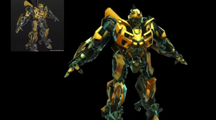 BumbleBee with experimental mobile shader